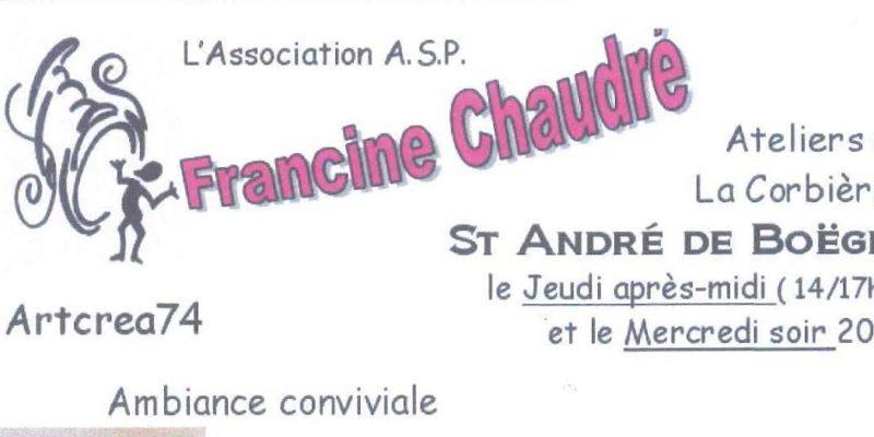 Atelier De Loisirs Créatifs à St André